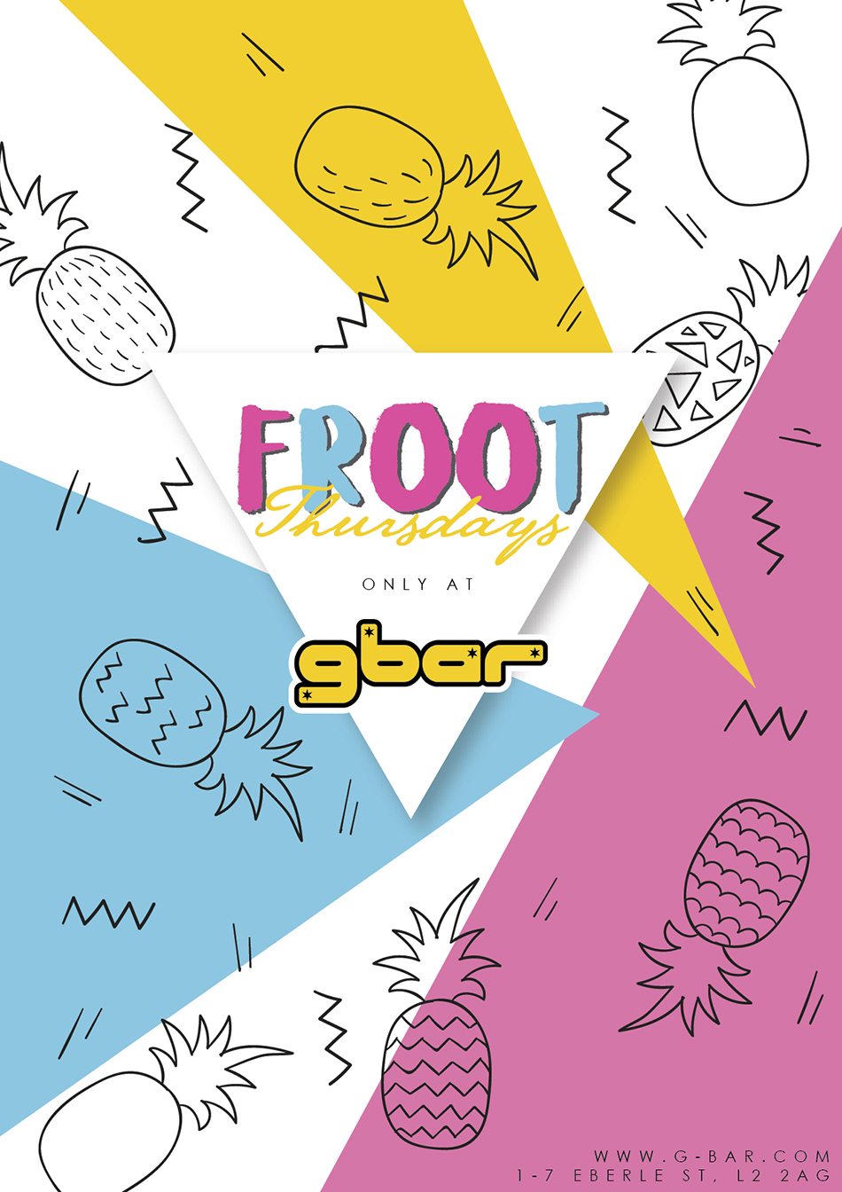 FROOT Comes To GBar!